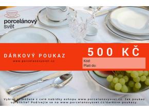Poukaz 500 Kč