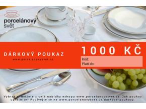 Poukaz 1000 Kč