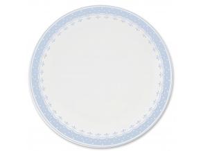 HyggeLine, talíř mělký, 26 cm, světle modrá, Leander, český porcelán