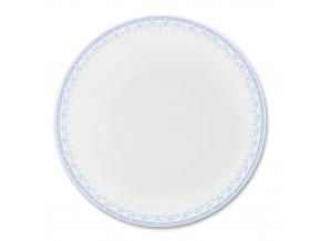 HyggeLine, talíř hluboký, 22 cm, světle modrá, Leander, český porcelán