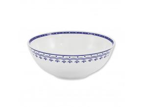 HyggeLine, miska, 16 cm, modrá, Leander, český porcelán