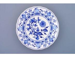 Cibulák, talíř hluboký 21 cm, Český porcelán Dubí
