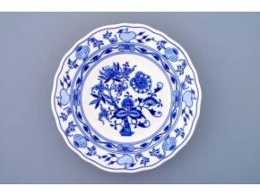Cibulák, talíř hluboký 24 cm, Český porcelán Dubí