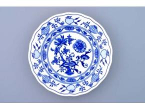 Cibulák, talíř dezertní 17 cm, Český porcelán Dubí