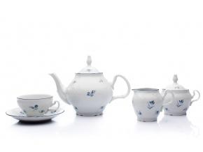 cajova souprava bernadotte modre kyticky thun porcelanovy svet