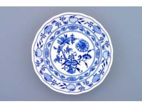 Mísa kompotová, 16 cm, cibulák, Český porcelán