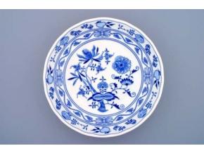 Mísa kompotová, 26 cm, cibulák, Český porcelán