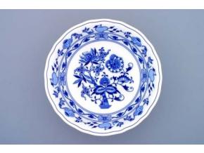 Mísa kompotová vysoká, 23 cm, cibulák, Český porcelán