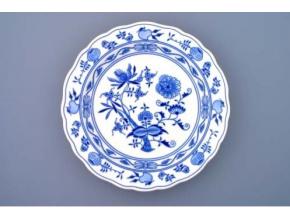 Mísa kulatá hluboká, 28 cm, cibulák, Český porcelán