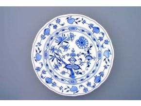 Mísa kulatá hluboká, 34 cm, cibulák, Český porcelán