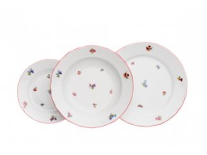 talirova souprava hazenky cervena cesky porcelan porcelanovy svet