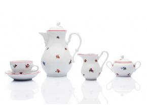 kavova souprava hazenky cesky porcelan porcelanovy svet