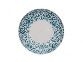 talíř mělký tom petrolej krajka thun porcelanovy svet(1)