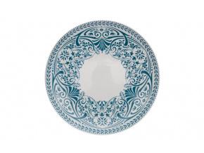 talíř hluboký tom petrolej krajka thun porcelanovy svet