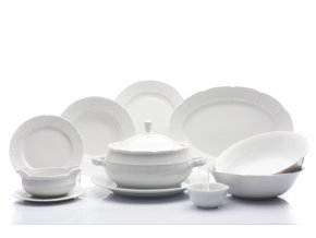jidelni souprava natalie bila cesky porcelan thun porcelanovy svet