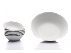kompotova souprava natalie bila cesky porcelan thun porcelanovy svet
