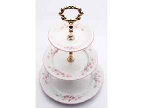 etazerka bernadotte ruze cesky porcelan thun porcelanovy svet