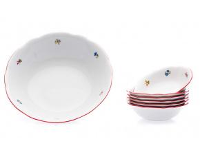 kompotova souprava mary anne házenka s červeným proužkem leander porcelanovy svet