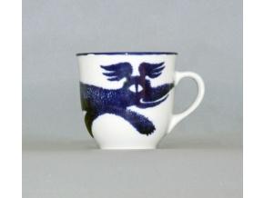 Hrnek Mirek, pes, design M. Oliva, Český porcelán Dubí