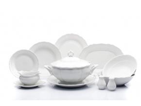 jidelni souprava verona bily porcelan g.benedikt porcelanovy svet