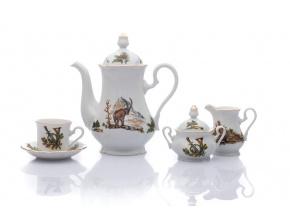 kávová souprava mokka marry anne myslivec leander porcelanovy svet