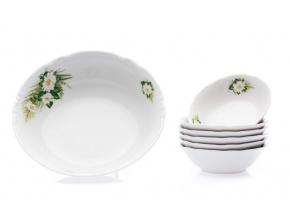 kompotová souprava constance kopretiny thun porcelanovy svet