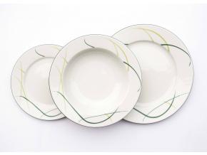 Opal, talířová souprava, tráva, Thun
