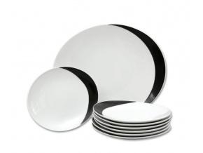 kolacova souprava loos cerna porcelan thun