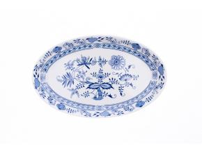 porcelanova misa ovalna v cibulaku saphyr 33 cm