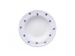 Ofélie, talíř hluboký, modrá házenka, Stará Role