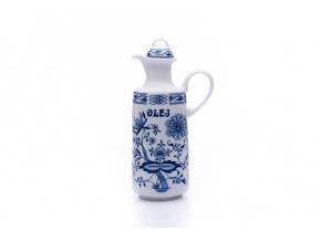 porcelanova lahev olej v cibulaku saphyr
