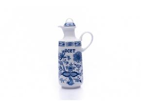 porcelanova lahev ocet v cibulaku saphyr