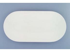Bohemia White, mísa oválná 36, bílá, Český porcelán Dubí