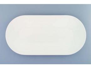 Bohemia White, mísa oválná 41, bílá, Český porcelán Dubí
