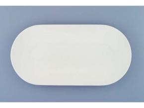 Bohemia White, mísa oválná 30, bílá, Český porcelán Dubí