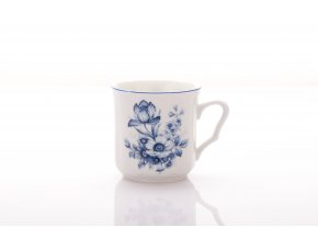 hrnek karel modry kvet 270 ml cesky porcelan porcelanovy svet