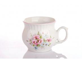 hrnek darume jemne kvety cesky porcelan porcelanovy svet
