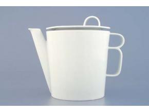 Bohemia White, konvice čajová, bílá, Český porcelán Dubí
