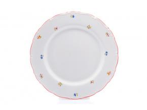 misa ovalna 30 hazenka s cervenou linkou thun porcelanovy svet