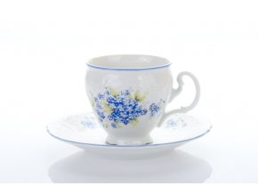 kavovy salek a podsalek bernadotte 170 ml pomnenky thun porcelanovy svet