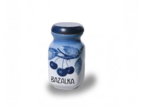 doza 200 ml bazalka modre tresně porcelan thun