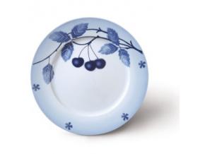 Nina, talíř mělký, 26 cm, blue cherry