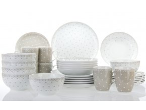 jidelni souprava kodan sedy puntik thun porcelanovy svet