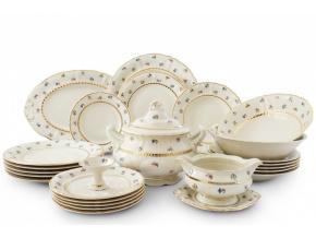 jidelni souprava 25 ti dilna kvetinova oslava leander porcelanovy svet