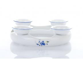 adventní svícen pomněnky český porcelán