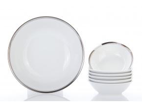 kompotova souprava sabina platinovy prouzek leander porcelanovy svet