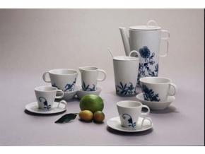 Bohemia Cobalt, kávová souprava, Český porcelán Dubí