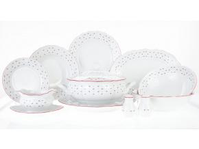 jídelní souprava Francezka G. Benedikt 25 d. český porcelán