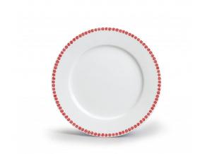 dezertni talir 19 odense cervena karlovarsky porcelan porcelanovy svet