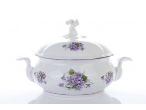 misa zeleninova 2 l fialky cesky porcelan Porcelanovy svet